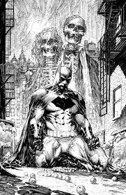 Batman Black White 1