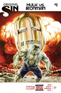 Original Sin Hulk Iron Man #1
