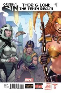 Original Sin Thor Loki #1
