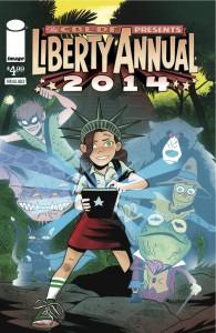 CBLDF Liberty Annual 2014