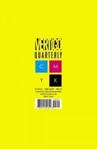 Vertigo Quarterly Yellow #1