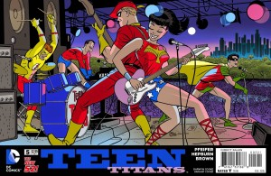 Teen Titans #5 Cooke