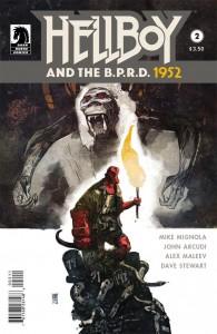 Hellboy B.P.R.D. 1952 #2