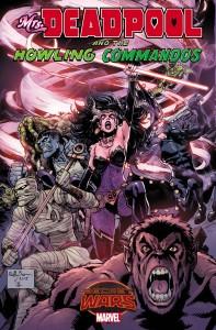Mrs. Deadpool Howling Commandos #1