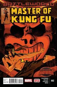 Secret Wars Master of Kung Fu #2