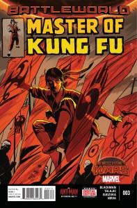 Secret Wars Master of Kung Fu #3