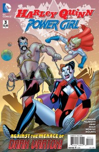 Harley Quinn Power Girl #3