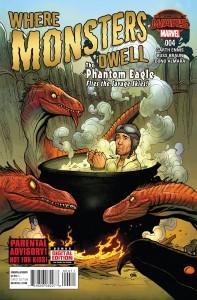 Secret Wars Where Monsters Dwell #4