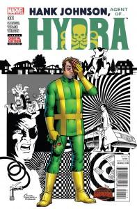 Secret wars Hank Johnson Agent Hydra #1