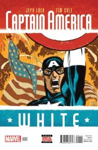 Captain America White #0