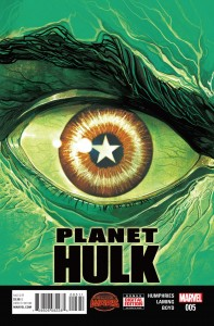 Secret Wars Planet Hulk #5