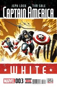 Captain America White #3