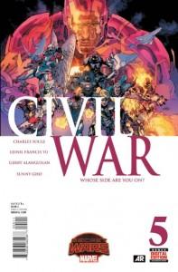 Secret Wars Civil War #5