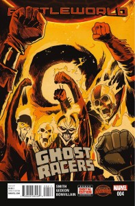 Secret Wars Ghost Racers #4