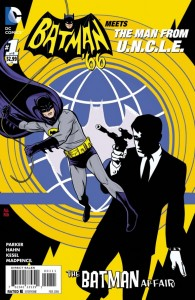 Batman '66 Man From U.N.C.L.E. #1