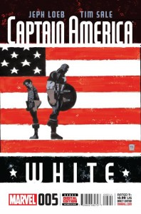 Captain America White #5