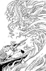 Aquaman #48 coloring