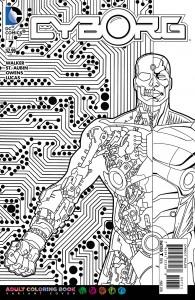 Cyborg #7 coloring