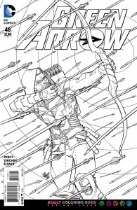 Greden Arrow 48 coloring book
