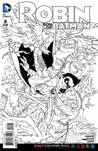 Robin Son of Batman 8 coloring