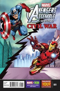 Avengers Assemble Civil War #1