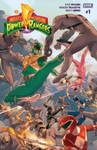 Mighty Morphin Power Rangers #1