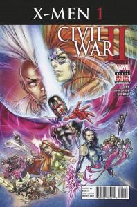 Civil War II X-Men #1