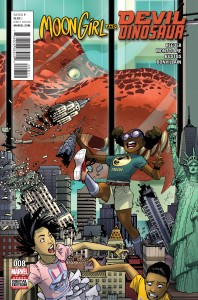 Moon Girl Devil Dinosaur #8