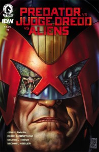 Predator Judge Dredd Aliens #1