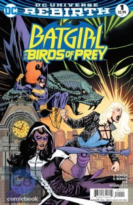 Batgirl Birds of Prey #1