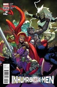 Inhumans vs X-Men #2