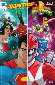 Justice League Power Rangers #1