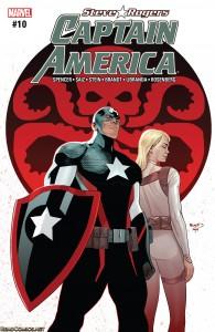 Steve Rogers Captain America #10