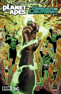 Planet Apes Green Lantern #1